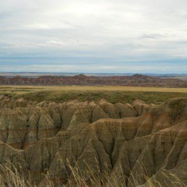 Sioux Falls >> Badlands National Park