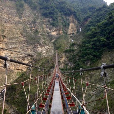 Taiwan's Scariest Suspension Bridge